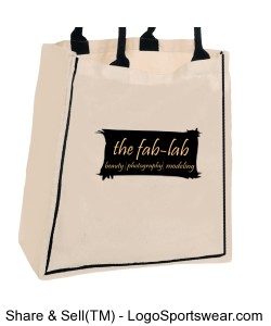 official fab-lab logo tote Design Zoom